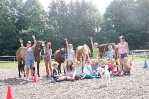 Therapie auf Pferde